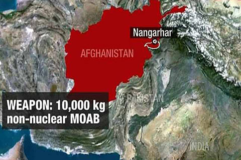 US drops 'mother of all bombs' in Afghanistan