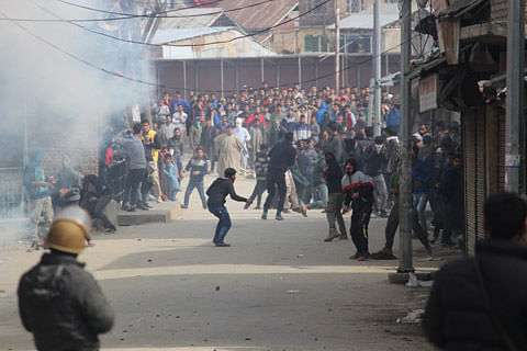 Clashes in Sopore after forces foil pro-freedom march