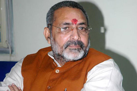 Babri Masjid case accused are innocent for public: Giriraj Singh