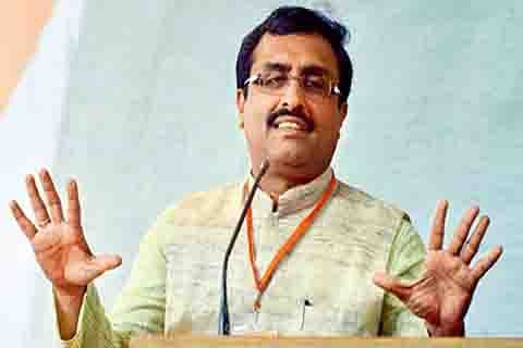 Madhav compliments army officer for tying man to jeep