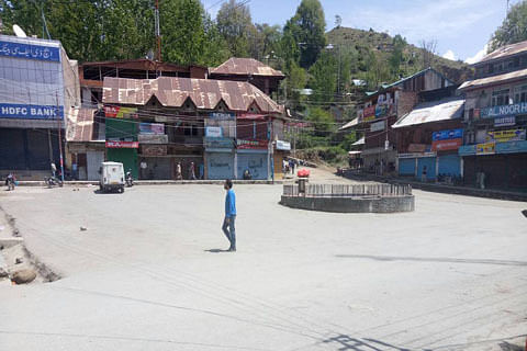 Student protests trigger shutdown in Bandipora town