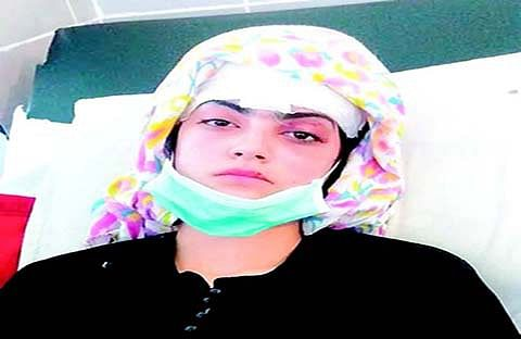 Injured Iqra stable but 'shattered'