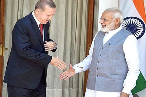 Kashmir a bilateral issue: India to Turkey