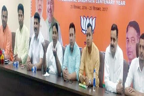 State BJP lauds BJYM's bike rally to welcome Amit Shah
