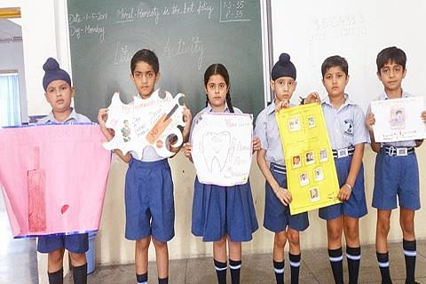 JKPS organises declamation competition