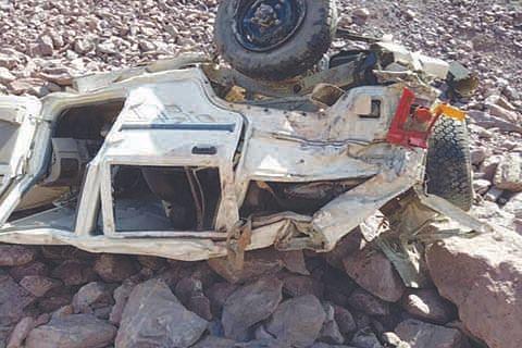 2 injured in Judda Reasi accident