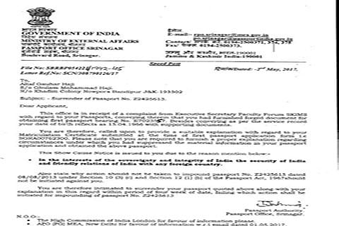 DoB 'fudging': SKIMS doctor admits 'discrepancy'