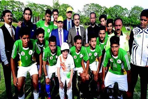 Bukhari inaugurates Oorja-CAPFs U-19 football talent hunt