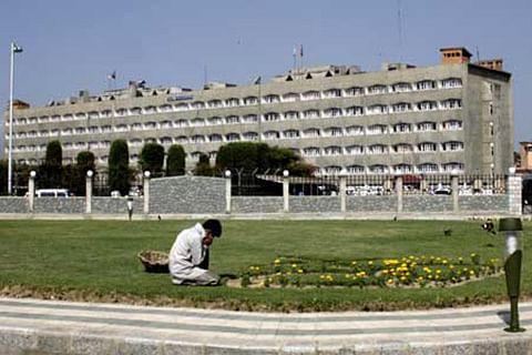 Civil secretariat re-opens in Srinagar after six months