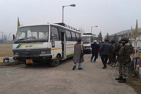 Srinagar-Muzaffarabad bus service suspended due to security reasons