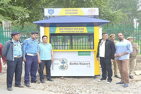 City gets new traffic booths