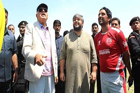 Dr Farooq inaugurates 14th Aga Syed Mehdi tournament