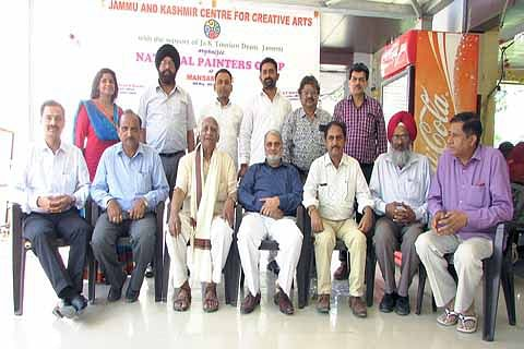 Rahi felicitated on concluding day of National Painters Camp