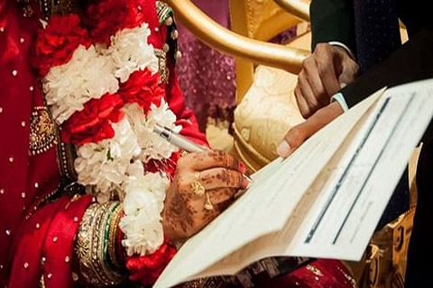 Marriage solemnised via video conferencing after groom fails to reach venue on time
