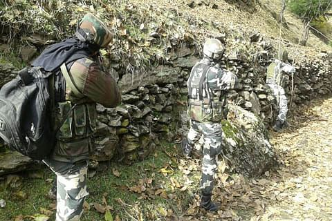 Shootout in Tral