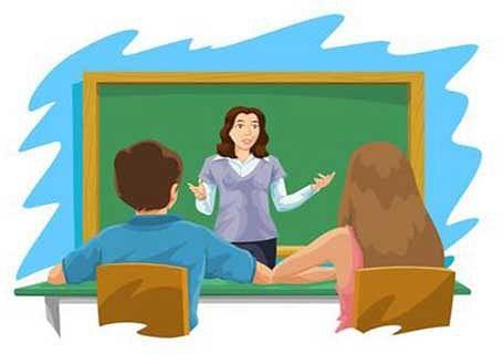 A word with teachers