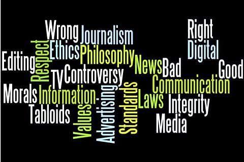 Who follows media ethics?