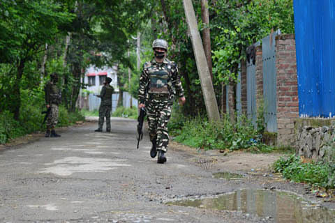 Gunfight rages at Nowgam; 2 militants trapped: Police
