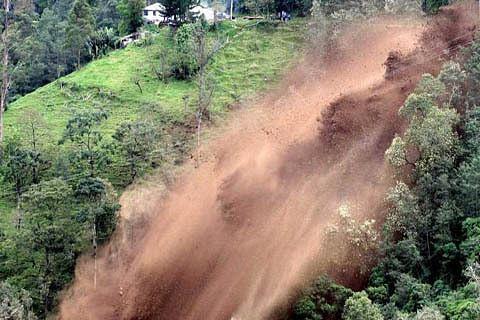 Hundreds rendered homeless as massive landslide damages dozens of houses in JK's Ramban