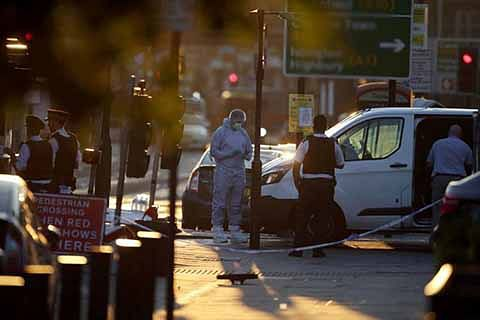 Terror attack near London mosque kills one, wounds 10
