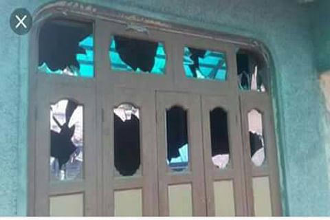 Residents in Shopian village protest after forces allegedly damage vehicles, torch motorcycle