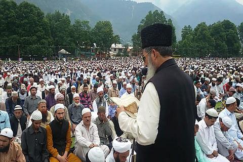 Pro-Burhan, Azadi slogans raised after Eid prayers in Kishtwar district of Jammu and Kashmir