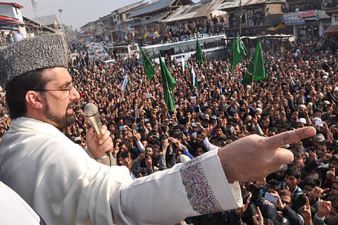 Kashmir Mirwaiz thanks Ayotallah Khamenei for rallying behind Kashmir struggle