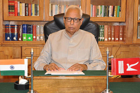 Home Secy meets Governor, CM