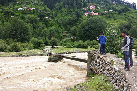 Three girl students rescued, one feared drowned in Bhadarwah flash floods