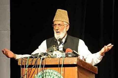 Delhi responsible for Kashmir bloodshed: Geelani