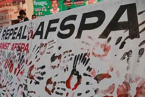 "Nagaland declared ""disturbed area"" under AFSPA for 6 more months"
