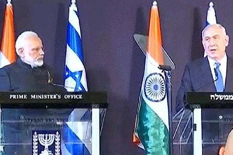 India, Israel now strategic partners against terrorism