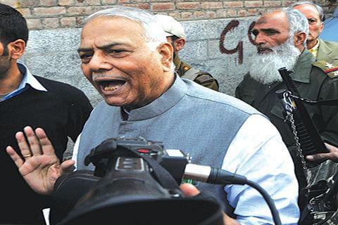Hold BJP responsible for breaking Kashmir promises: Yashwant Sinha