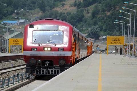 136-kilometre Kashmir rail line to be electrified by March 2022