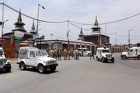 """Jamia Masjid locked"""