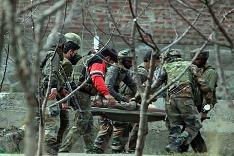 Army Captain, 2 soldiers injured in Hajin attack