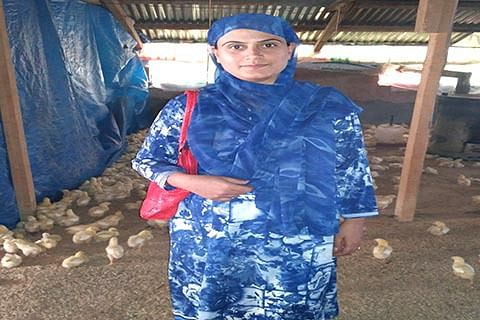 Transforming childhood dream of chicken rearing into profession