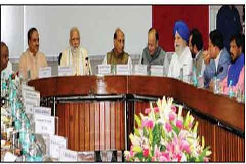 Fight hooliganism in name of cow: PM at all-party meet