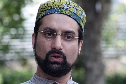 Kashmir: Mirwaiz detained, barred from leading funeral prayers of uncle