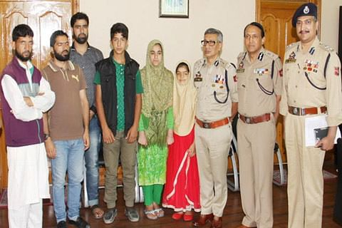Three students able to hear after assistance by Jammu and Kashmir police
