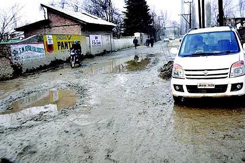Kishtwar bus terminal in bad condition