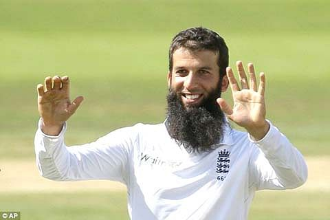 England's Moeen Ali picks his moment for first hat-trick