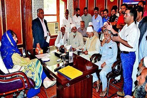 Deputations from across JK meet CM