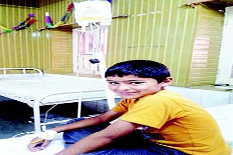 Children with hemophilia suffer because of government apathy; no drugs in hospitals