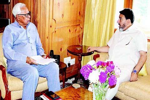 Governor, Altaf Bukhari review educational scenario
