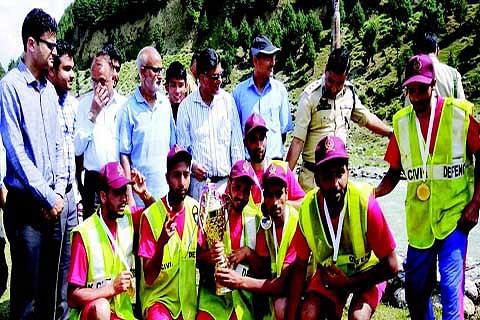 Rafting marathon concludes at Wussan