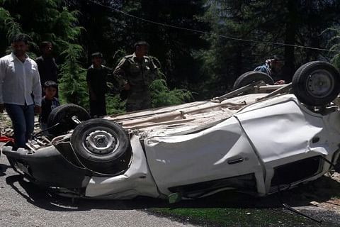 1 killed, 14 injured in Poonch road accidents