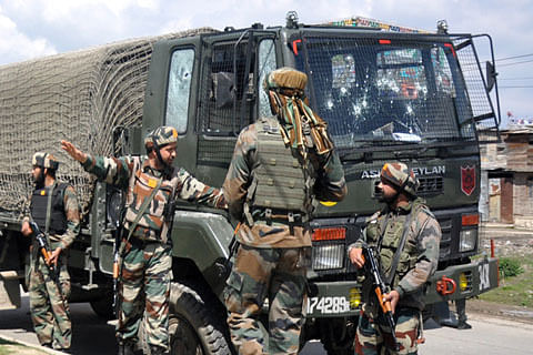 10 attacks on army establishments in Jammu and Kashmir since 2014: Minister