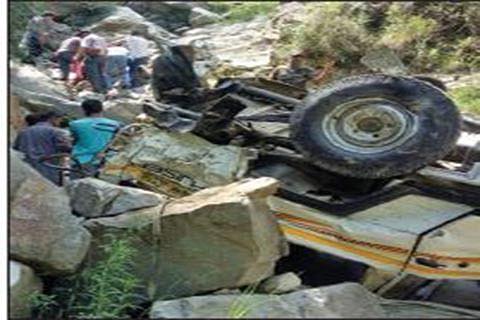 6 die in Doda road accident, CM grieved