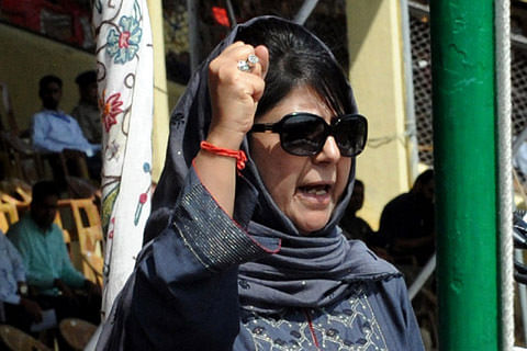 Don't pick guns, stones: Mehbooba to youth